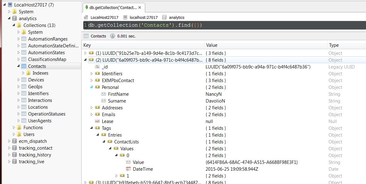 List Manager:  Creating a Contact List from an external source programmatically