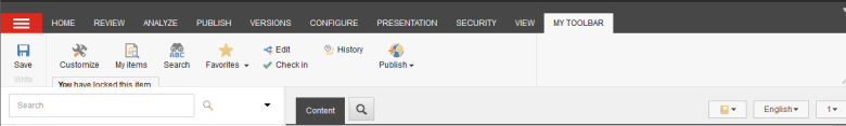 My toolbar 2